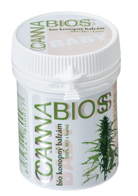 CANNABIOS konopný BIO balzám BABY CARE, 50ml